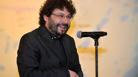 Norfolk and Norwich Festival artistic director William Galinsky announces the 2017 programme. Photo:
