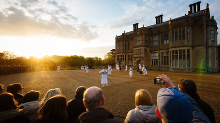 Wolf's Child at Felbrigg Hall during the 2015 Norfolk and Norwich Festival. Photo: Steve Tanner.