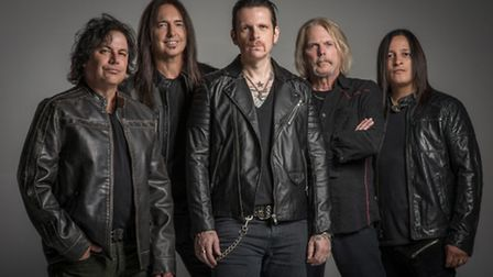 Black Star Riders � the latest incarnation of what was Thin Lizzy, formed by ex-members incluidng Sc