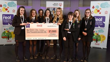 Coca Cola European Partners Real Business Challenge 2016/17 East Anglia Regional Finals held at Op