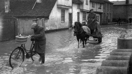 EADT FLASHBACK MAY 9 Pic REF DK. The winter of 1947 was severe. Sub zero temperatures, blizz