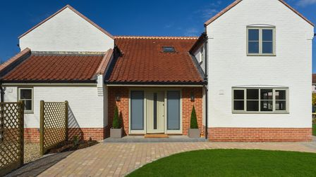 Exterior of White Cottage in Saxlingham after its renovation. Photo: Courtesy of Brooks Residential