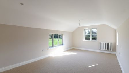 Large open room in White Cottage in Saxlingham. Photos: Courtesy of Brooks Residential