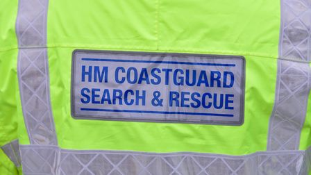 The coastguard team was called out from Great Yarmouth. PHOTO: Nick Butcher