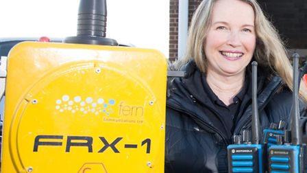 Jennifer Cushion, director of Fern Communications in Lowestoft. The firm is part of the SCORE projec