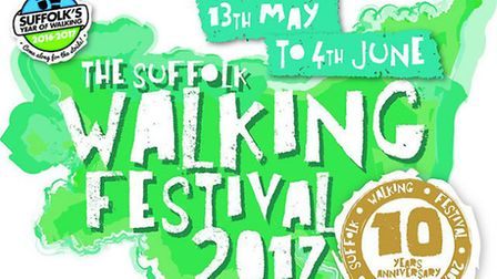 Celebrating 10 years of the Suffolk Walking Festival. Picture: Suffolk County Council
