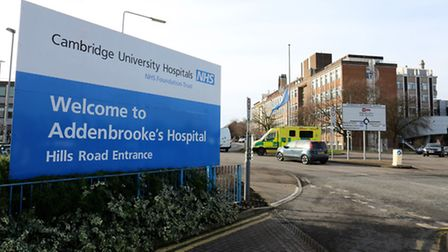 Amelie's genetic problem was discovered by a consultant at Addenbrooke's Hospital in Cambridge. Phot