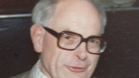 John Wood, a Norfolk country vet who has died at the age of 95.