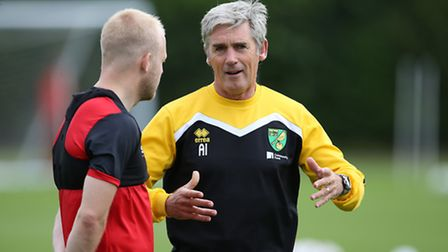 Alan Irvine will be in charge of City this afternoon. Picture: jasonpix