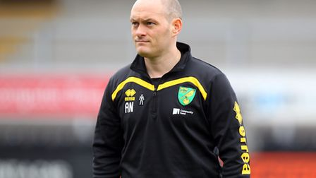 Norwich Manager Alex Neil before the Sky Bet Championship match at the Pirelli Stadium, Burton upon