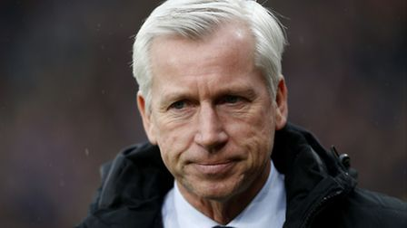 Alan Pardew is heavily touted with the Norwich City vacancy. Picture: Paul Harding/PA Wire.