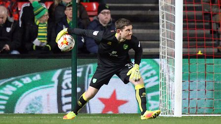 Michael McGovern - one of only two Alex Neil signings who started the game against Blackburn. Pictu