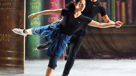 Rehearsals for Peter Pan on Ice at the King's Lynn Corn Exchange. Picture: Ian Burt