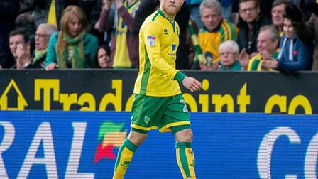 Alex Pritchard's look says it all as he is substituted early in Norwich City's draw with Blackburn,