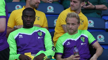 Russell Martin, Robbie Brady, Sebastien Bassong and Alex Pritchard had to sit out the very start of