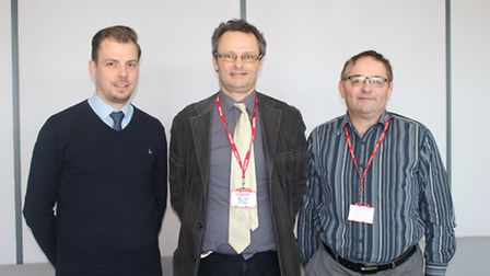 Pasta Foods: Alan Wagner, Curriculum and Quality Manager for Engineering at Lowestoft College; Peter