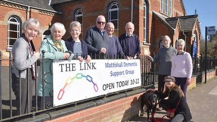 A new group has been set up in Mattishall for people wi dementia and their carers. Byline: Sonya Dun