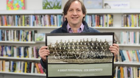 Andrew Tatham spent 21 years researching a photo taken during the First World War. Picture: Ian Burt