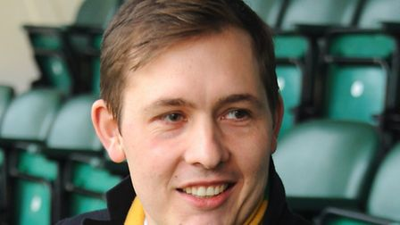 Tom Smith, the new director at Norwich City Football Club. Picture: DENISE BRADLEY