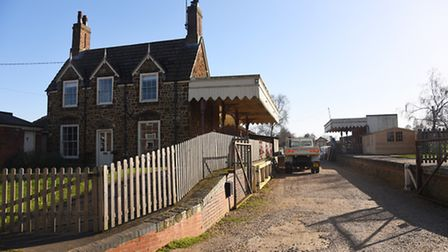 Semba Trading Building Merchants at the old railway station in Dersingham. Picture: Ian Burt