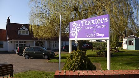 Thaxters Garden Centre and Coffee Shop. Picture: Ian Burt