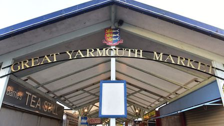 Yarmouth market traders are angry at changes in management and policy. PHOTO: Nick Butcher