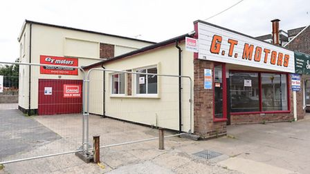 The former GT Motors site on the High Street in Gorleston. Picture: James Bass