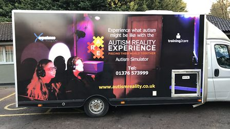 The Autism Reality Experience mobile unit from Training 2 Care