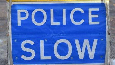 Police were called to a collision in Tom Crisp Way. PIC: Sonya Duncan Copyright: Archant 2016