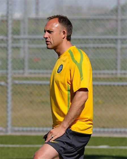 Celtic's chief talent scout David Moss. Picture: Sigma Sports Solutions