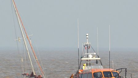 A yacht with engine failure was successfully towed into Lowestoft by Lowestoft's RNLI lifeboat. Pict