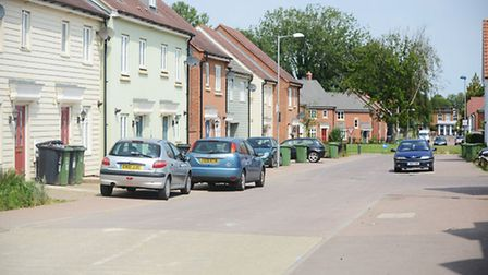 Residents of Blenheim Grange in Carbrooke are unhapy with the some aspects of the estate. Picture: I