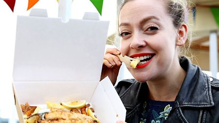 Fish and Chips was on the menu as Cherry Healey discovered that the origins of our national dish are