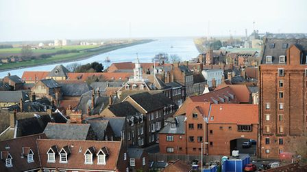 Historic King's Lynn is set to become a Heritage Action Zone. Picture: Ian Burt