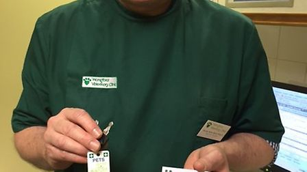 Walter Stohr, practice owner and senior vet at Wangford Veterinary Clinic. Picture: courtesy of Wang