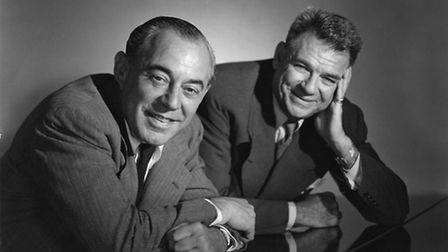 Richard Rodgers and Oscar Hammstein II creators of Oklahoma - the Great American Musical. Picture: S