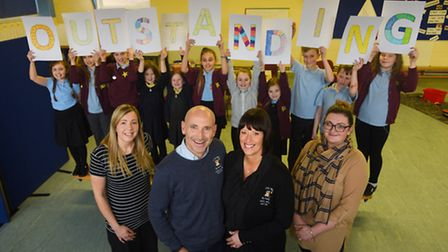Hoots after school club at Toftwood Junior School has been rated outstanding by Ofsted. Pictured at