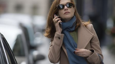 Isabelle Huppert delivers a tour-de-force Oscar-nominated performance in Elle. Picture: Picturehouse