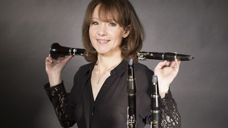 Renowned clarinettist Emma Johnson will give her concerto collaboration with Patrick Hawes its world