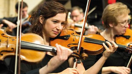 Emma Johnson will be performing alongside the Academy of St Thomas at St Andrew's Hall. Picture: Sub