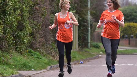 Chistine and Emma Cullen are running the London marathon in memory of Stuart Cullen who was killed i