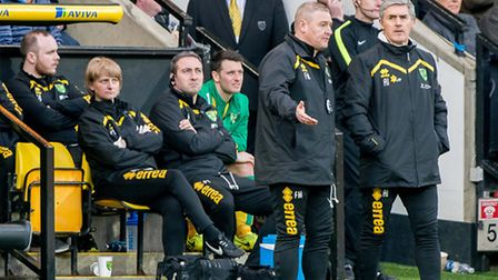 Alan Irvine is in charge again for Norwich City's Championship game against Barnsley on Saturday. Pi