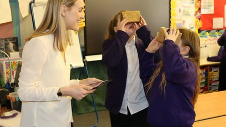Pupils at a Norwich Primary Academy have enjoyed a field trip to some of the world�s most amazing pl