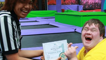 Norwich trampoline park, High Altitude, has been training its staff in autism awareness. Picture: HI