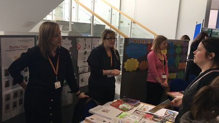 A conference organised by Family Voices was attended by hundreds of parents of children and young pe