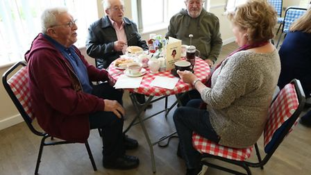 More than 50 people attended the opening of Scratby's Friday Forget-me-not Cafe Pictures: Tony Bush