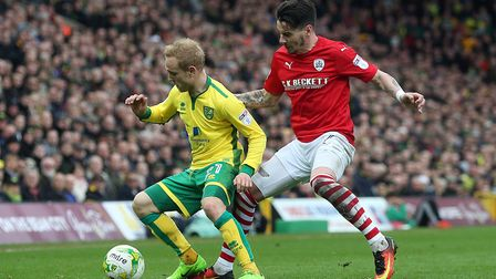 Alex Pritchard was one of Norwich City's most creative threats at Aston Villa. Picture: Paul Chester