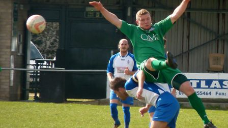 Aaron Taylor scored his first goal of the season. Picture: David Hardy