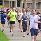 The Norwich parkrun in Eaton Park. Organisers have reluctantly banned dogs from the event. PHOTO BY