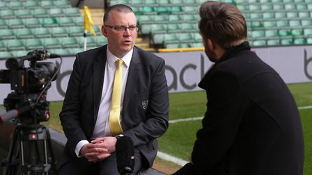Steve Stone will support Stuart Webber's bid to overhaul Norwich City's squad. Picture: Paul Chester